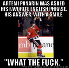 Blackhawks Panarin ... No filter
