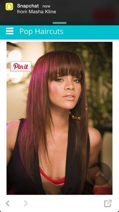 Want her hair? Get the look at www.iwantherhair.com ❤ #iwantherhair