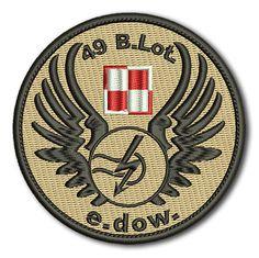 Naszywka 49 B.Lot. e.dow.