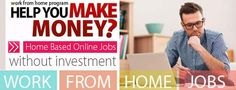 How to Find genuine work from home jobs without investment