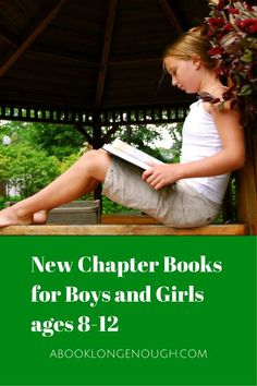Chapter books that tween boys and girls ages 8-12 will enjoy reading. Chosen by a children's librarian.