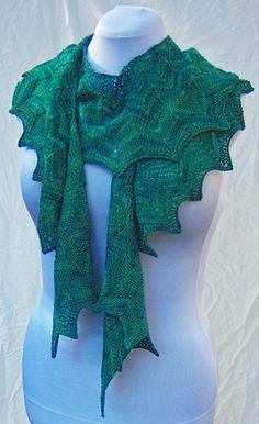 Beautiful inspiration. A purchase pattern on Ravelry.