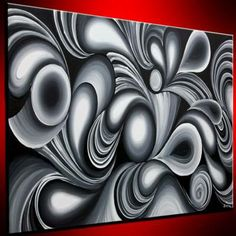 Ultra Modern Abstract Digital 1 pc Oil Painting on Canvas ...