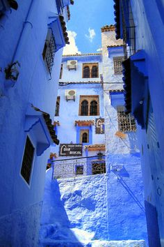 Mediterrāneum — Chefchaouen Medina in Morocco Visit Morocco, Morocco Travel, Morocco Chefchaouen, Places To Travel, Places To Go, Destinations, Blue Aesthetic, Shades Of Blue, Windows