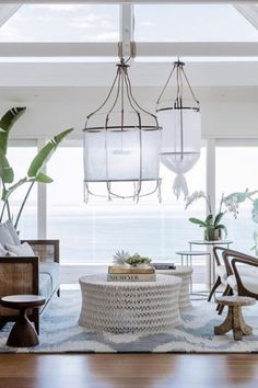 Coastal decor - beach theme decor for living room. When attempting to do a coastal decor project, it is usually better to work in a space that is not too cluttered. Have furnishings to the minimum to keep as much space open as possible. Coastal Living Rooms, Living Room Decor, Tropical Living Rooms, Living Area, Ikea Lillangen, Tropical Home Decor, Tropical Furniture, Tropical Interior, Tropical Colors