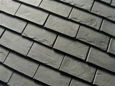 how to: slate look roof tiles