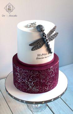 Tarta amuleto libélula /dragonfly cake