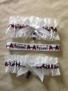 "Houston ""Texans"" Garters by SportzNutty on Etsy"