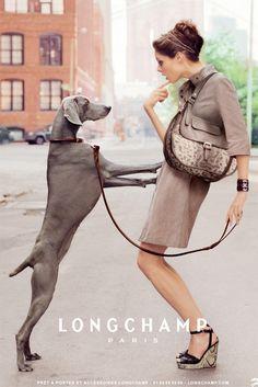 Longchamp ad campaign April 2012