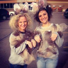 Dust bunny costumes