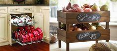 Decoideas: Trucos prácticos de almacenaje para tu cocina