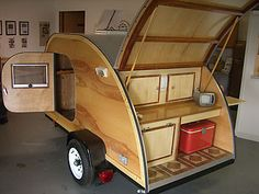 Teardrop camper/trailer, really want one for road tripping