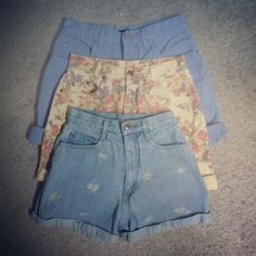 can i have alllll these high waist shorts?