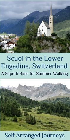 #Scuol is a great base to explore the magical Lower #Engadine villages and surrounding countryside in #Switzerland Gondola Lift, Rail Europe, Natures Path, Great Walks, Pallets Garden, Travel Abroad, Travel Around The World, Switzerland, Adventure Travel