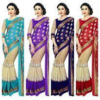 Saree, Design, Sari, Saris, Sari Dress, Half Saree