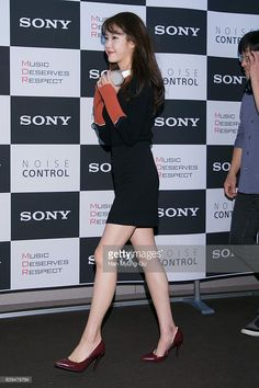 South Korean actress and singer IU attends the photocall for Sony Korea 'MDR - 1000X' launch on September 21, 2016 in Seoul, South Korea.