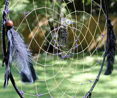 The Big Bad Wolf Dream Catcher by raventalker on Etsy, $50.00