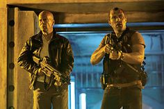 Here is the first image from A Good Day To Die Hard with Bruce Willis and Jai Courtney