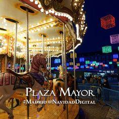 Carrusel o tiovivo en la Plaza Mayor esta Navidad 2014 | Christmas carousel in Mayor Square this Christmas 2014