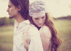 Bridal head piece, Vintage style cap veil, white lace headpiece, Bridal hair, Unique veil alternative, Boho wedding cap - QUEEN ANNE