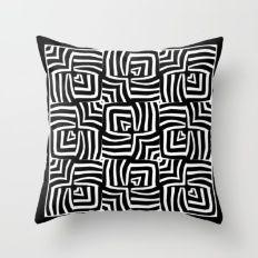 Serengeti - Zebra/Heart Throw Pillow