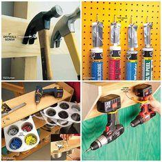 Quick And Clever Workshop Or Garage Storage Solutions » iSeeiDoiMake