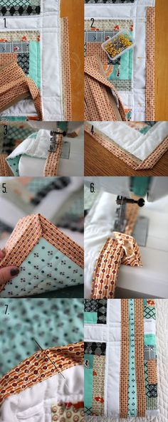 How to Machine Stitch Your Quilt Binding | Smile and Wave
