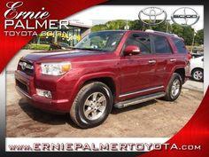 Vehicle Spotlight: 2012 Toyota 4Runner SR5 | Ernie Palmer Toyota Blog