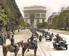 Paris 14 juni 1940 arc de triumpf
