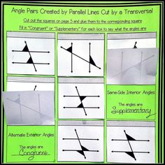 ... Worksheets along with parallel lines transversal worksheet cut