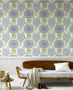 I love this wallpaper, but wonder how quickly it would become dated?