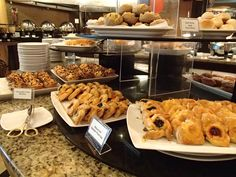 pastries at the buffet breakfast, Bellevue Hotel, Alabang, Muntinlupa, Philippines.
