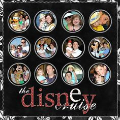 Disney cruise - Two Peas in a Bucket