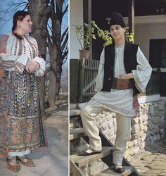 Arges, Muntenia (Wallachia) Folk Costume, Costumes, Folk Clothing, Ethnic, Sequin Skirt, The Past, Textiles, The Incredibles, Embroidery