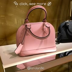 LV Alma BB Rose Balerine Epi Leather RM5,885