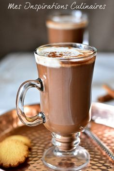 Cinnamon hot chocolate recipe from Felder - Recette - Coffee Recipes Salad Recipes Healthy Lunch, Salad Recipes For Dinner, Chicken Salad Recipes, Easy Healthy Recipes, Vegetarian Recipes, Dessert Recipes, Cooking Recipes, Asian Recipes, Café Chocolate