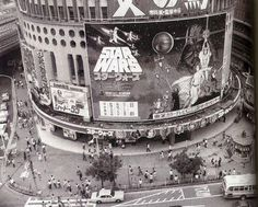 """Tokyo """"Star Wars"""" in 1978 Tokyo, Cuadros Star Wars, Really Cool Photos, Neo Geo, War Film, History Images, A New Hope, World View, Star Wars Episodes"""