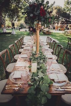 Guest tablescape fro