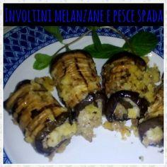 Gli involtini melanzane e pesce spada ripieni di mollica aromatizzata sono un secondo piatto dal sapore mediterraneo di facile preparazione