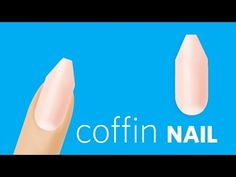How to File a Coffin Nail - Nails Magazine