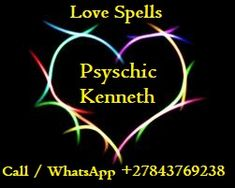 Spiritual Psychic Healer Kenneth consultancy and readings performed confidential for answers, directions, guidance, advice and support. Please Call, WhatsApp. Love Spell Chant, Love Spell That Work, Best Psychics, Love Spell Caster, Powerful Love Spells, Wwe, Drama, Love Tarot, Family Problems