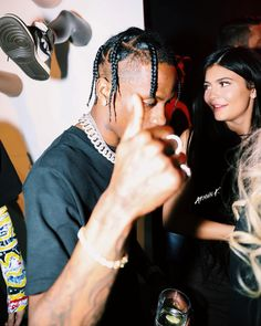 Travis party❤️ Kylie Jenner Pictures, Kylie Jenner Outfits, Travis Scott Wallpapers, Rapper, Kylie Travis, Kylie Birthday, Kendall And Kylie, Kardashian Jenner, My Girl