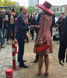 Queen Maxima attended a event for for young people in Utrecht