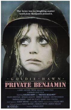 Private Benjamin (1980) | dir. Howard Zeiff | Goldie Hawn | Albert Brooks