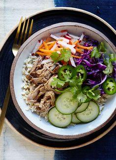 Slow-Cooker Banh Mi Rice Bowls | Skinnytaste