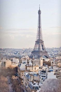 Iconic View of Eiffel Tower