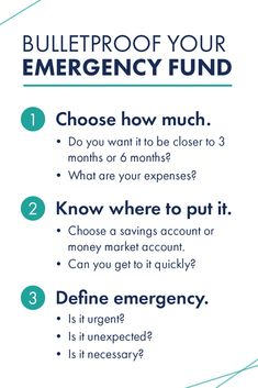 3 steps to make sure you keep your emergency fund in tact and only use it for a REAL emergency! Money Market Account, Life On A Budget, Twenty Twenty, Money Talks, Dave Ramsey, Financial Tips, College Life, Personal Development, No Response