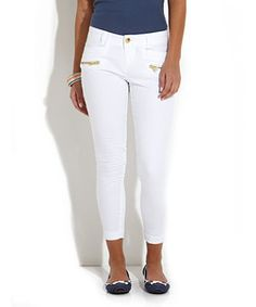 So cute - I'm on a white pant fix at the moment, so bare with me!