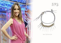 #MaríaLama con look #numero3 #ilovenumero3 #hilandera