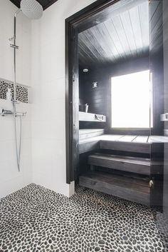 a wonderful design ideas for your own home sauna Saunas, Diy Bathroom Decor, Modern Bathroom, Small Bathroom, Sauna Seca, Beddinge, Sauna Design, Spa Rooms, Laundry In Bathroom